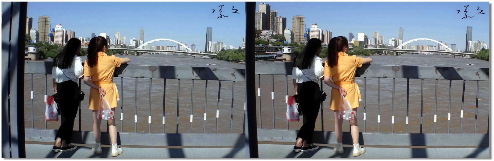 【原创】铁桥上的风景 -3