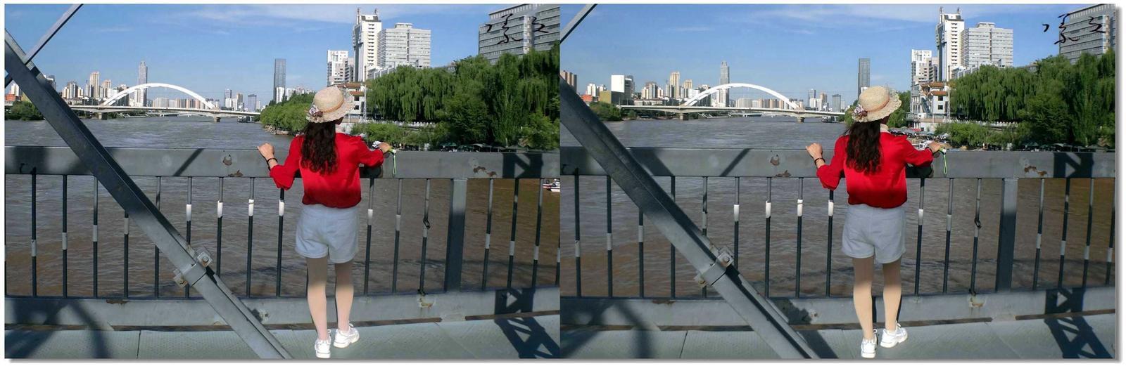 【原创】铁桥上的风景 -2