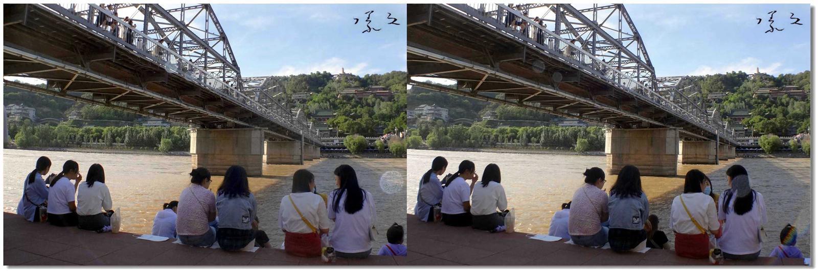 【原创】铁桥上的风景 -1