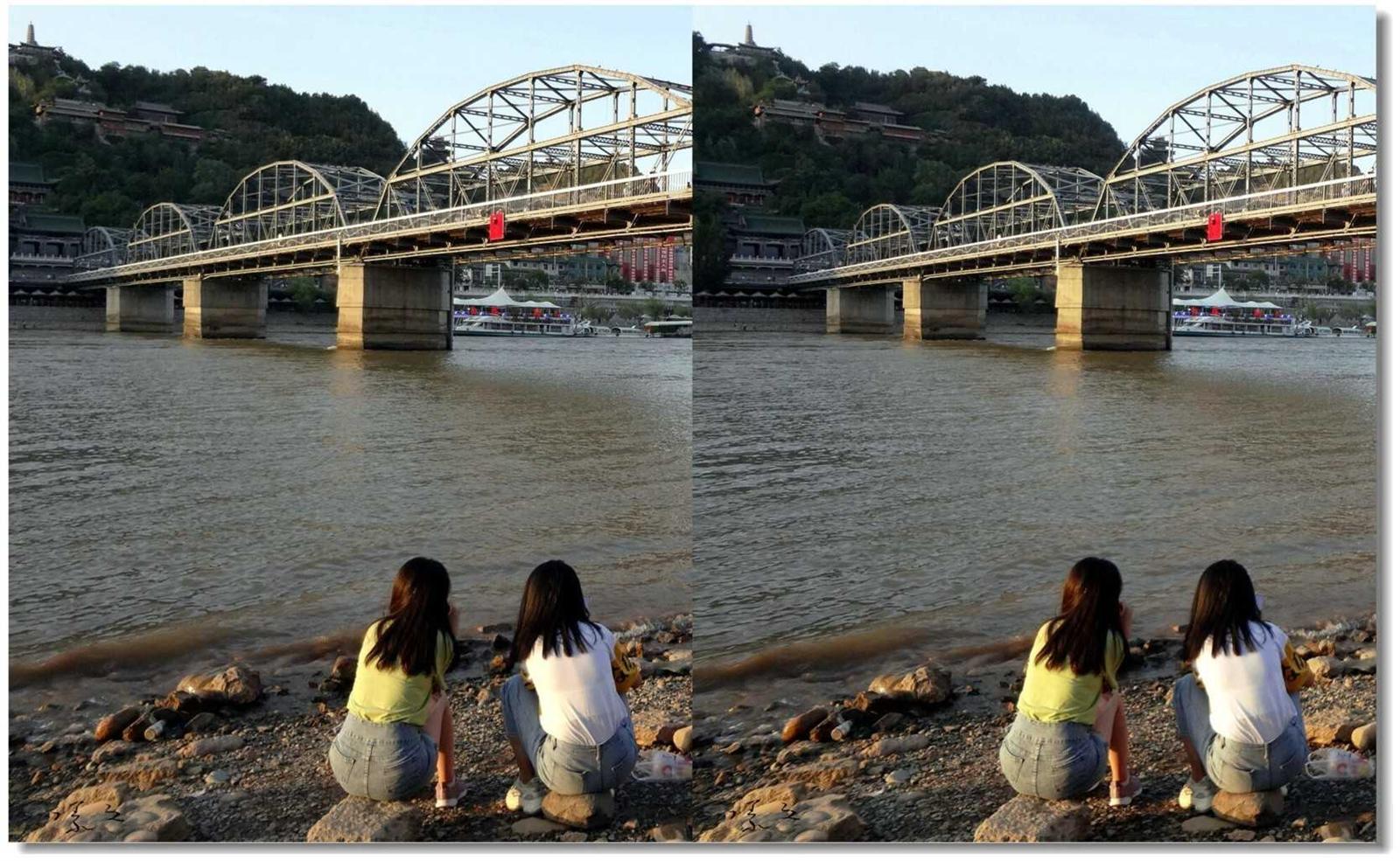 【原创】黄河铁桥下的风景 -2