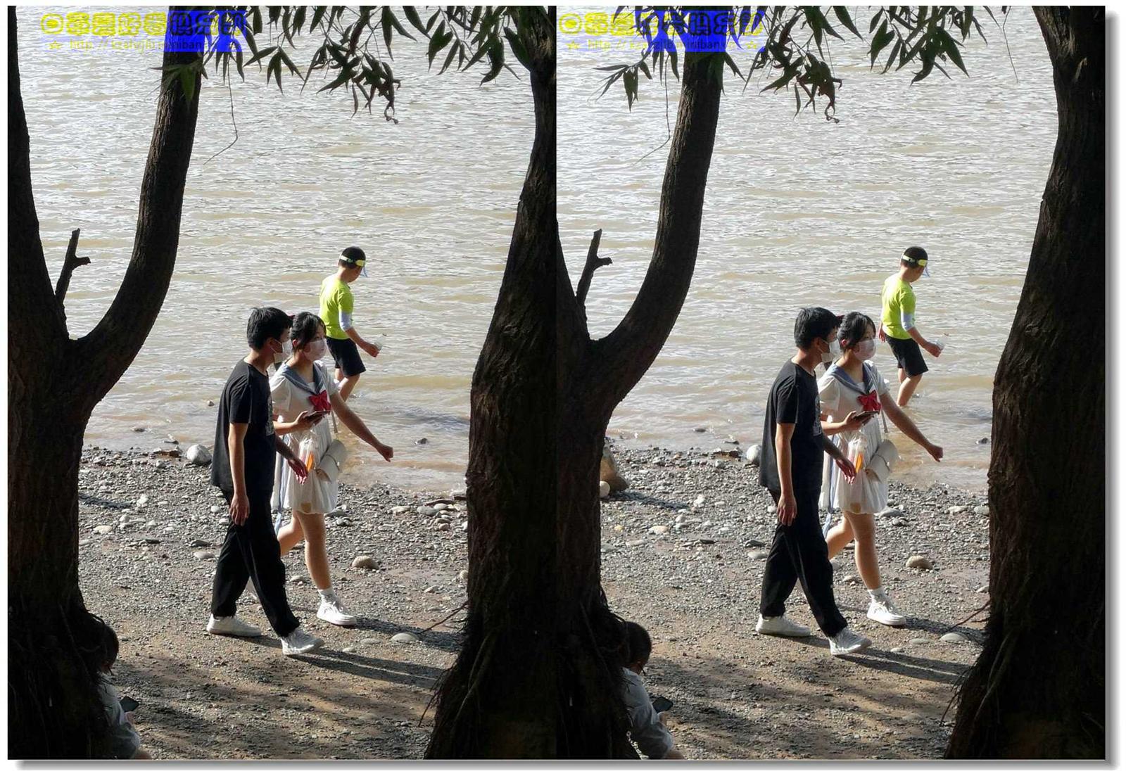 【原创】河畔情侣 -1