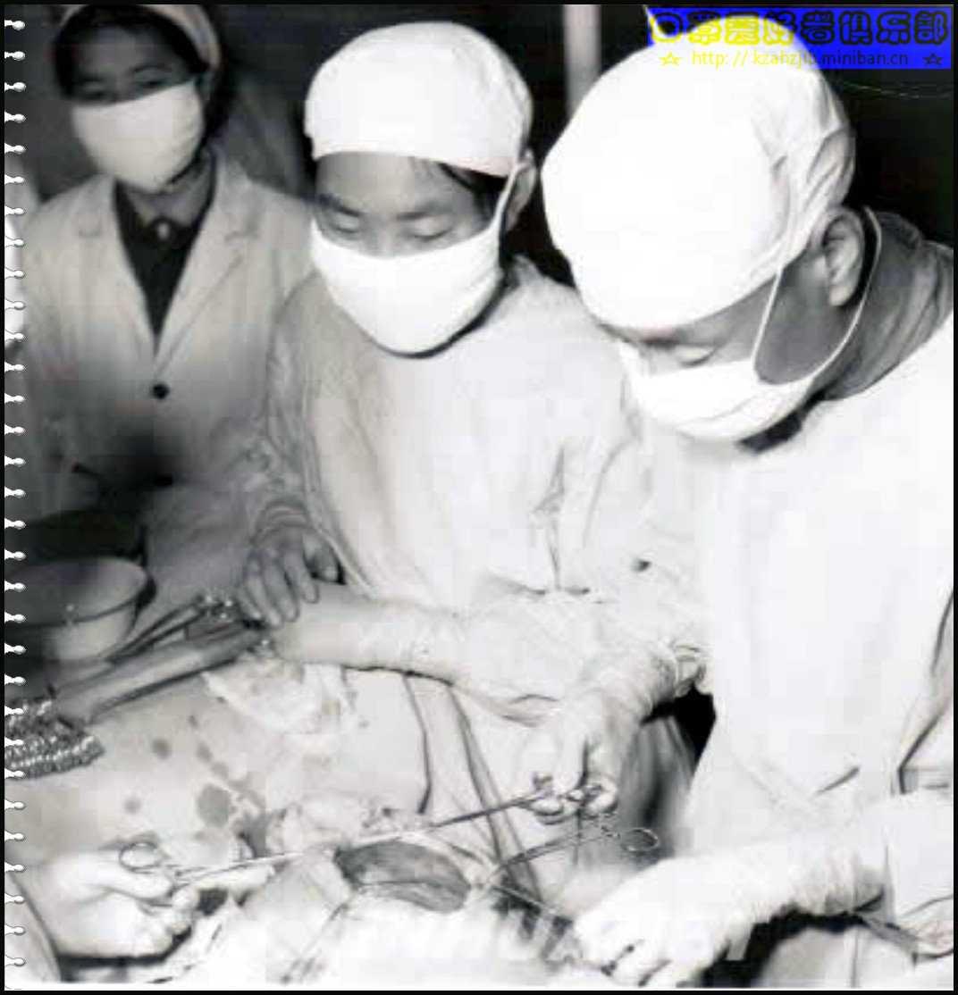 【老照片】手术室护士 -4