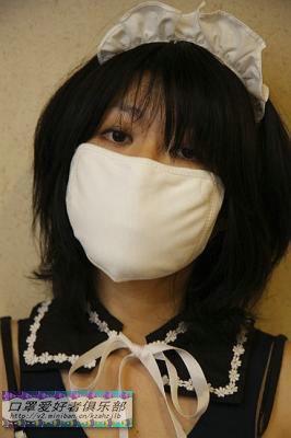 戴口罩的女人图片_女人口罩论坛